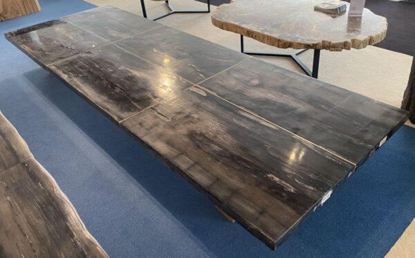 Mesa madera petrificada 33249