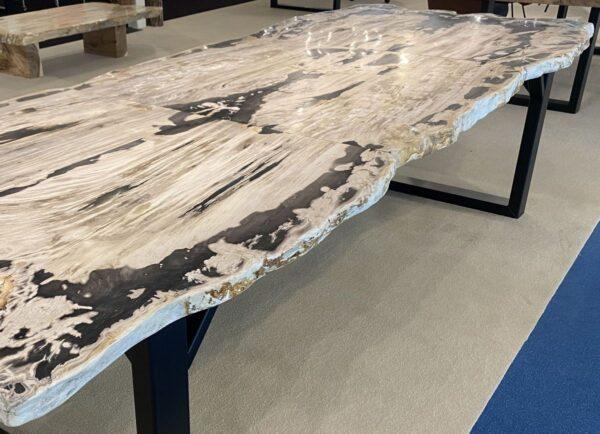 Mesa madera petrificada 33254