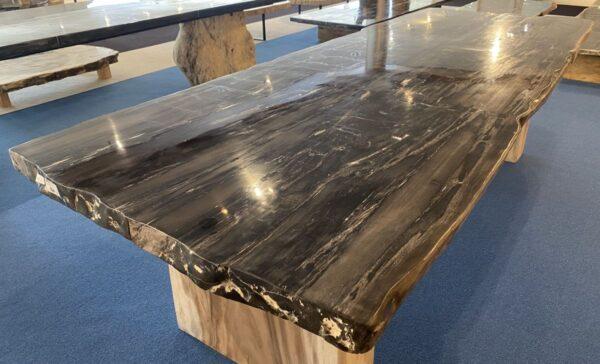 Mesa madera petrificada 33255