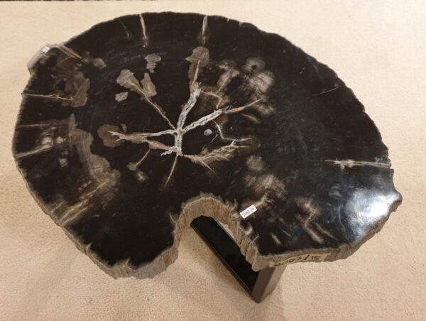 Mesa de centro madera petrificada 32417