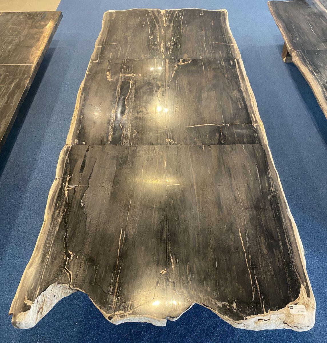 Table top petrified wood 33247