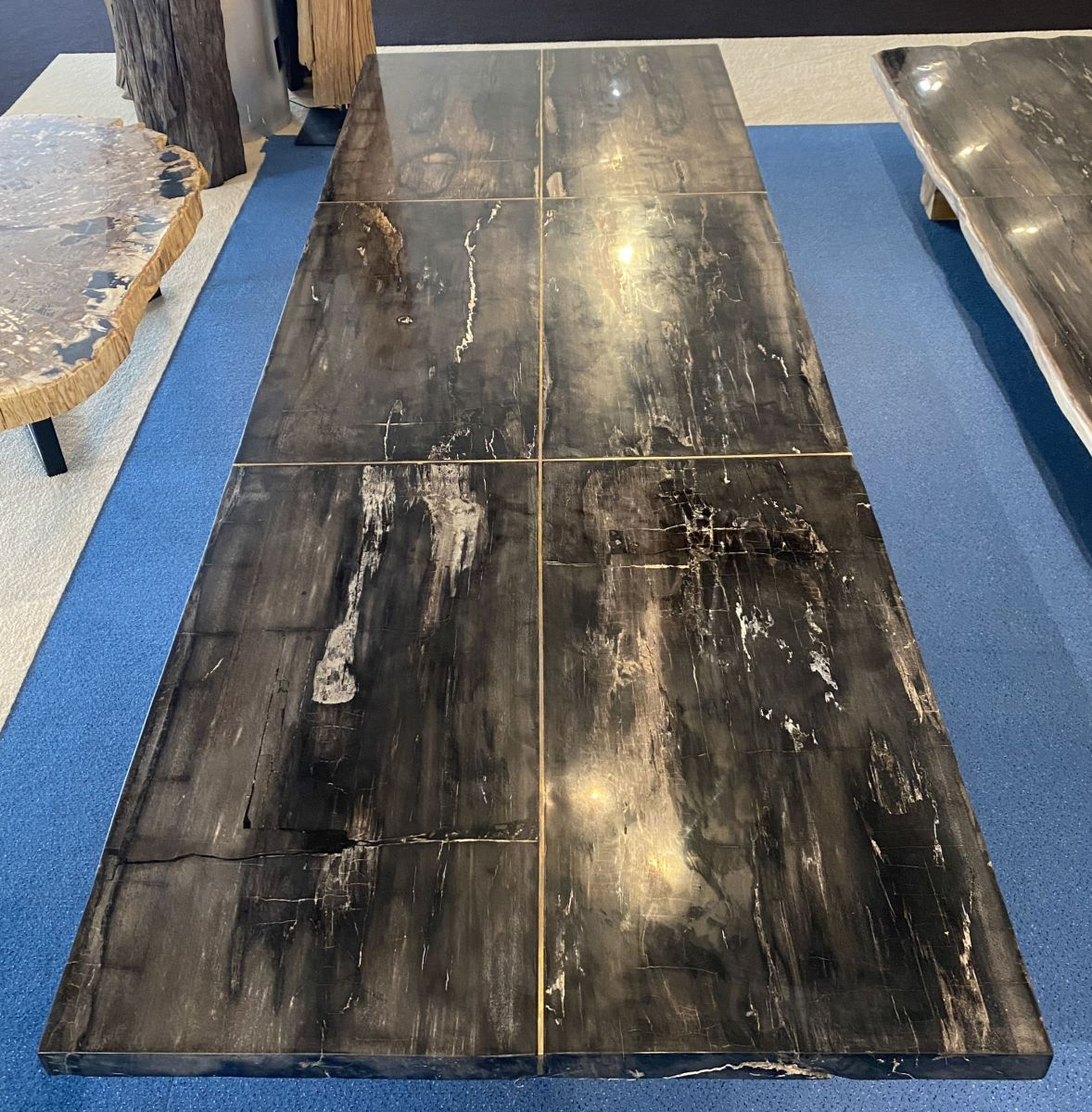 Table top petrified wood 33249
