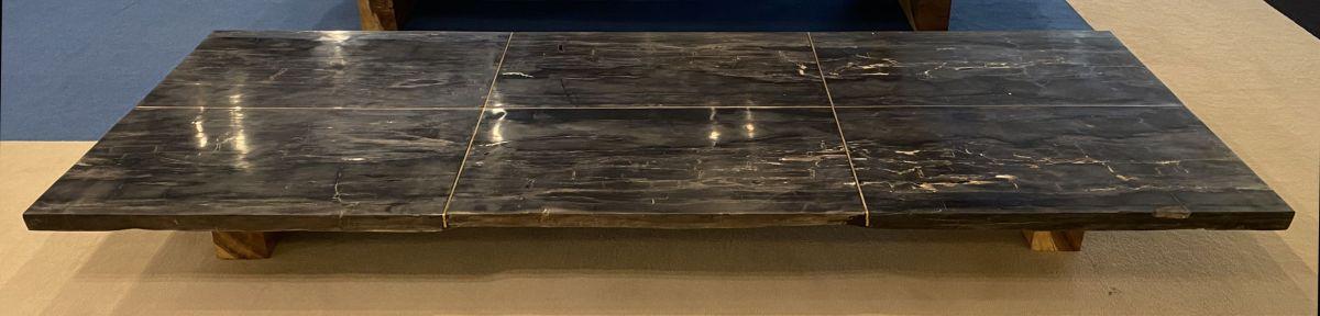 Tafelblad versteend hout 33248