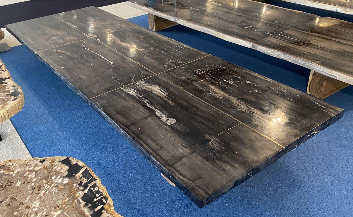 Tafelblad versteend hout 33249