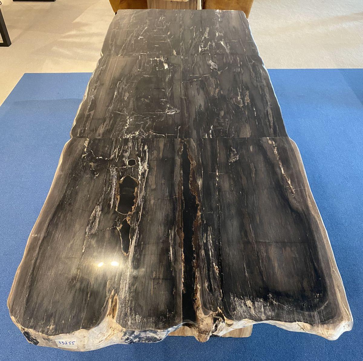 Tisch versteinertes Holz 33255