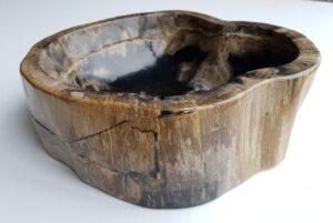 Bowl petrified wood 32524