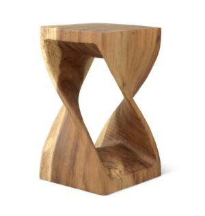 Wooden stool model 3