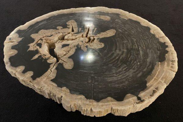 Couchtisch versteinertes Holz 34200
