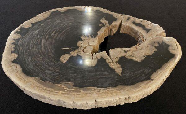 Couchtisch versteinertes Holz 34201