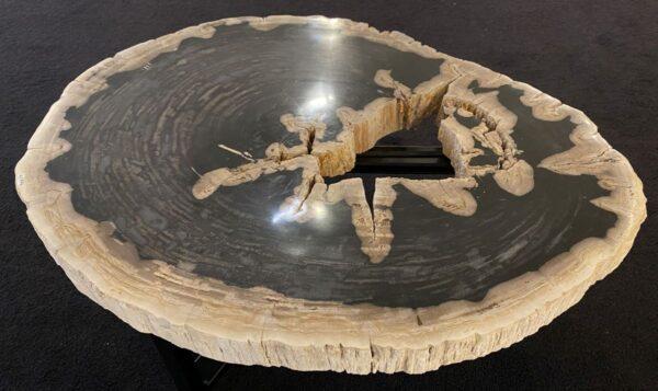 Couchtisch versteinertes Holz 34202