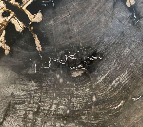 Mesa de centro madera petrificada 34125