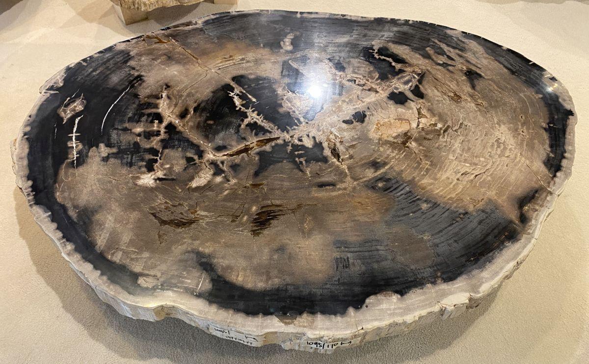 Mesa de centro madera petrificada 34154