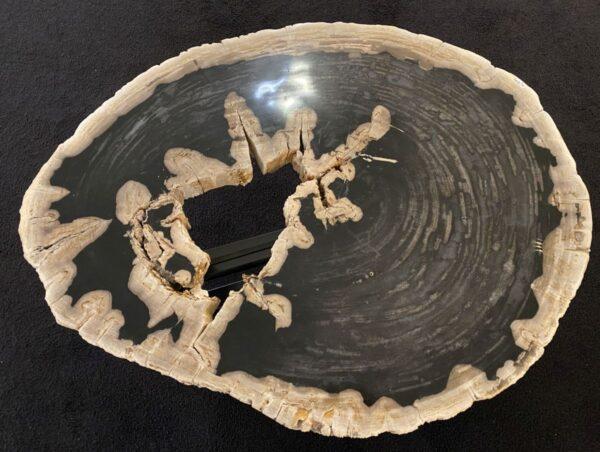 Mesa de centro madera petrificada 34202