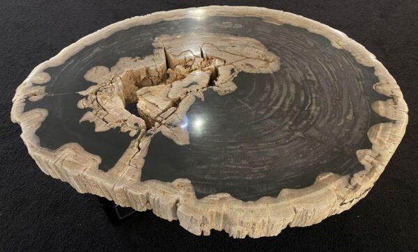 Mesa de centro madera petrificada 34204
