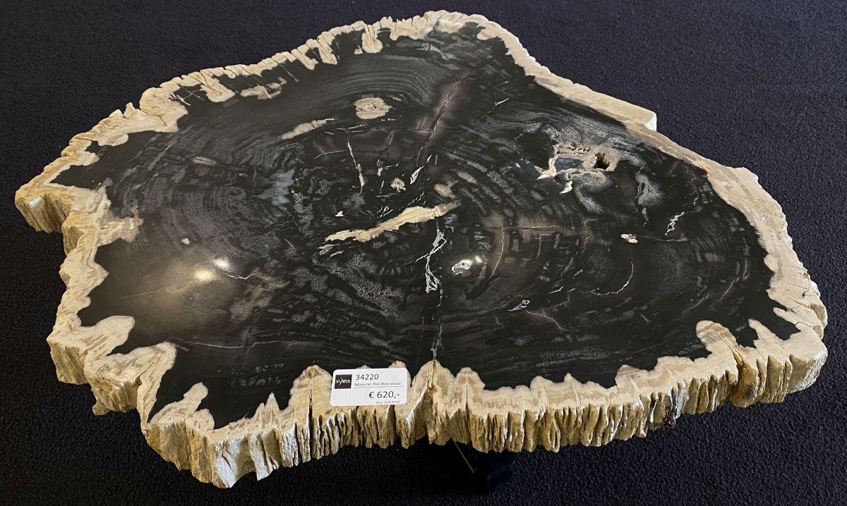 Mesa de centro madera petrificada 34220