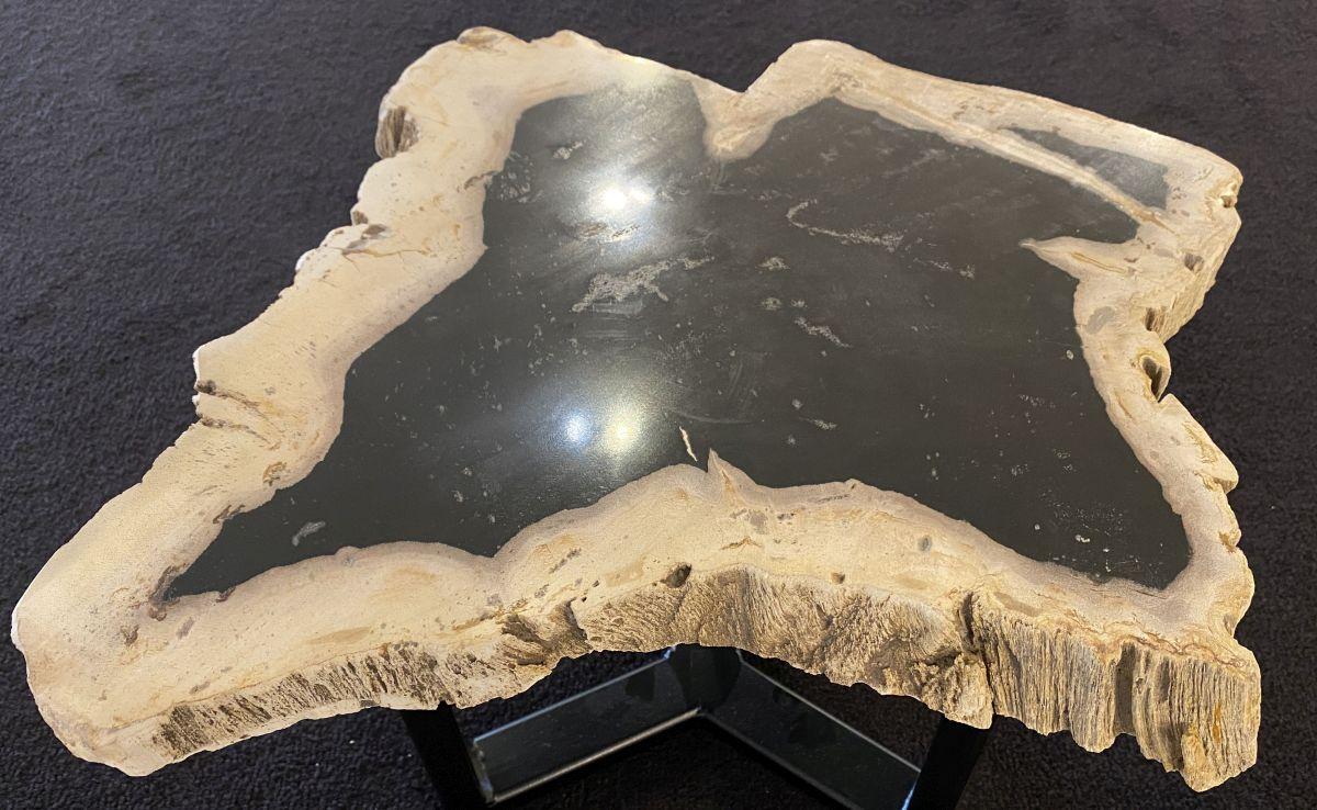 Mesa de centro madera petrificada 34249