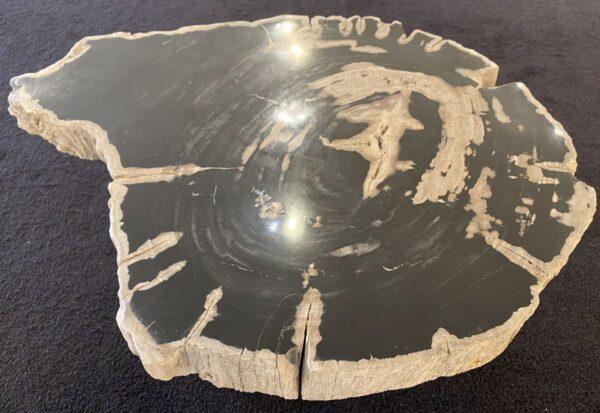 Mesa de centro madera petrificada 34257