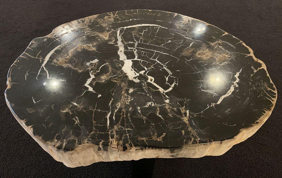 Mesa de centro madera petrificada 34296