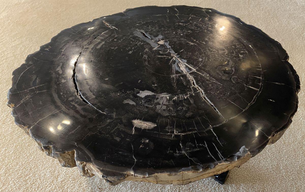 Mesa de centro madera petrificada 34312