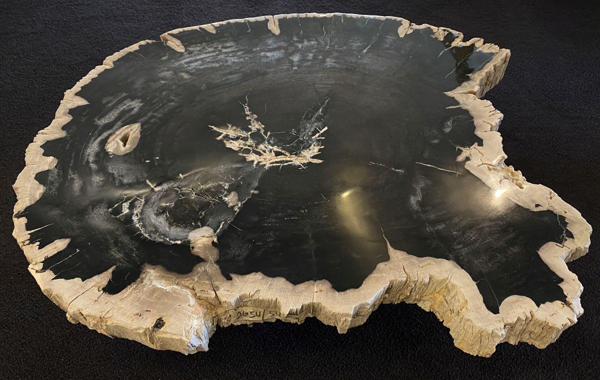Table basse bois pétrifié 34164