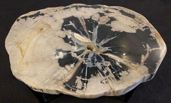 Table basse bois pétrifié 34185