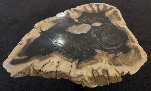 Table basse bois pétrifié 34238