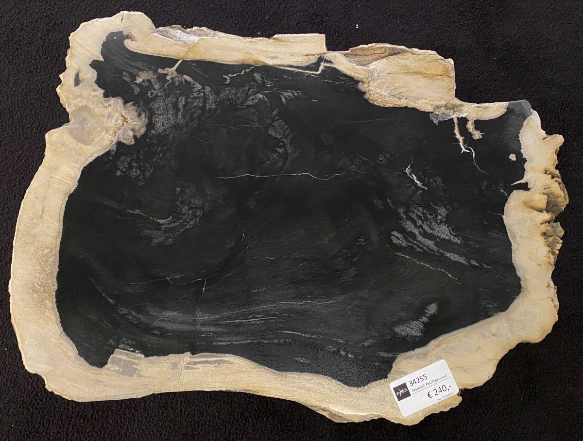 Table basse bois pétrifié 34255