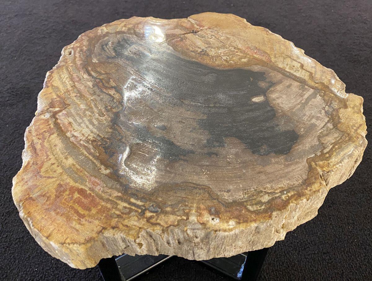 Table basse bois pétrifié 34262