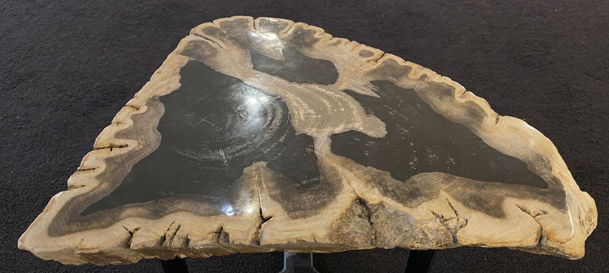 Table basse bois pétrifié 34264