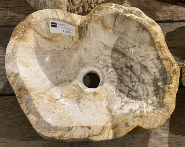 Lavabo bois pétrifié 34395