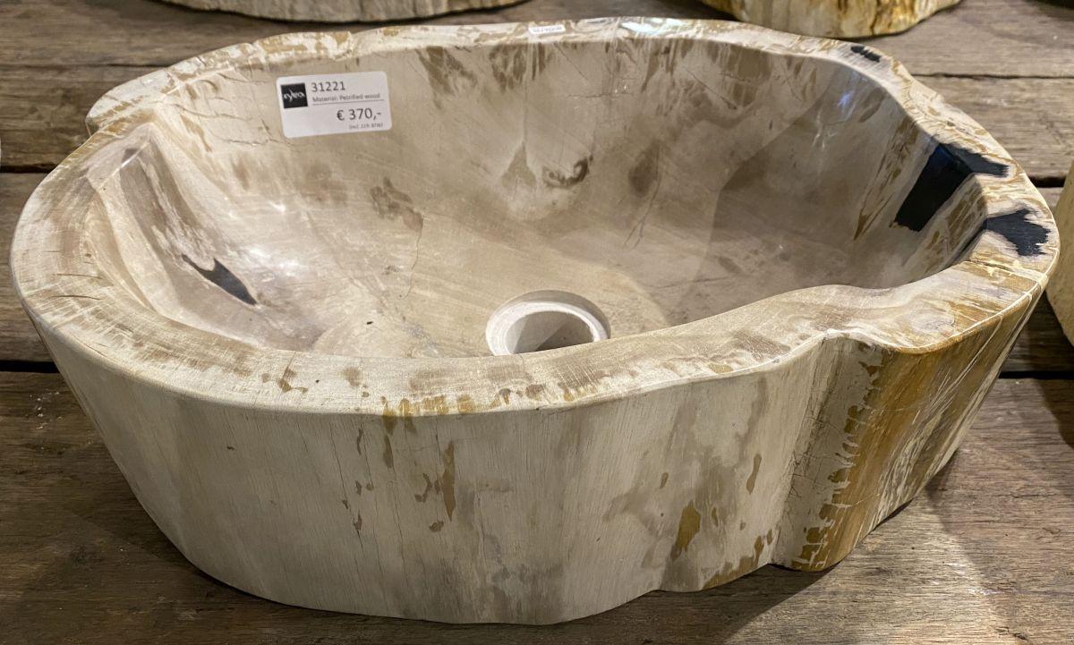 Wash hand basin petrified wood 31221