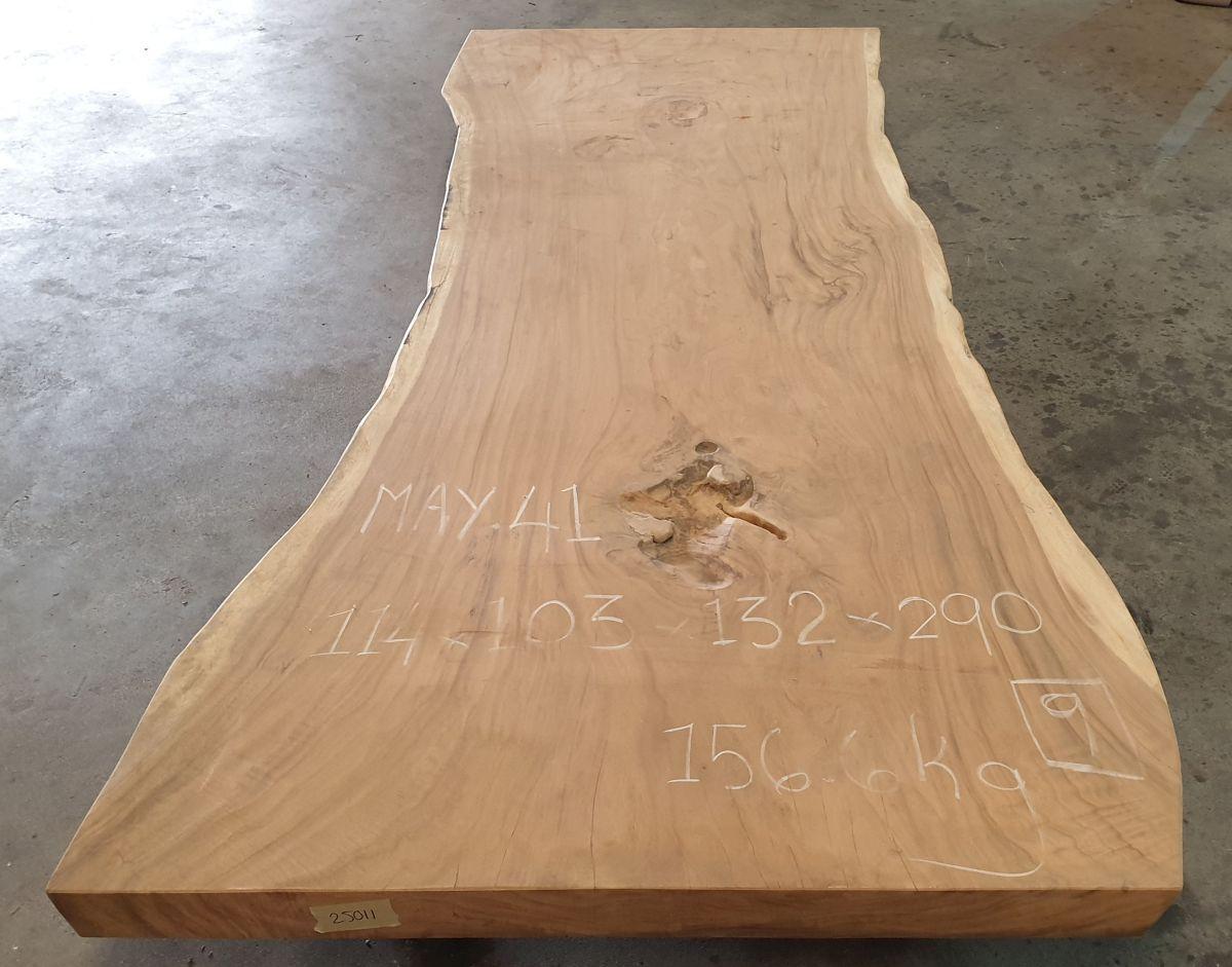 Live edge table suar 25511