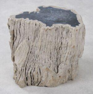 Bijzettafel versteend hout 34016