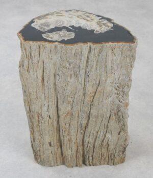 Bijzettafel versteend hout 35002a