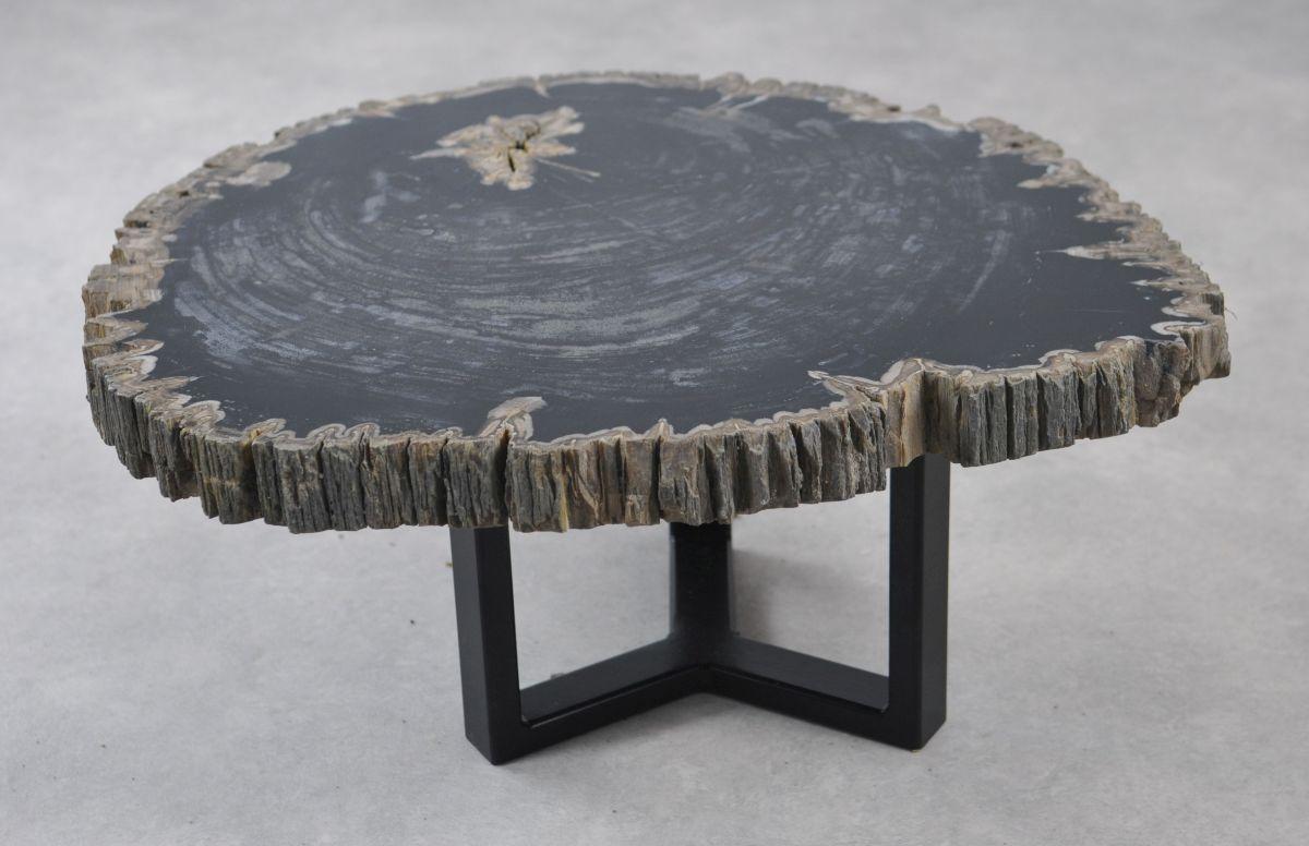Couchtisch versteinertes Holz 35142