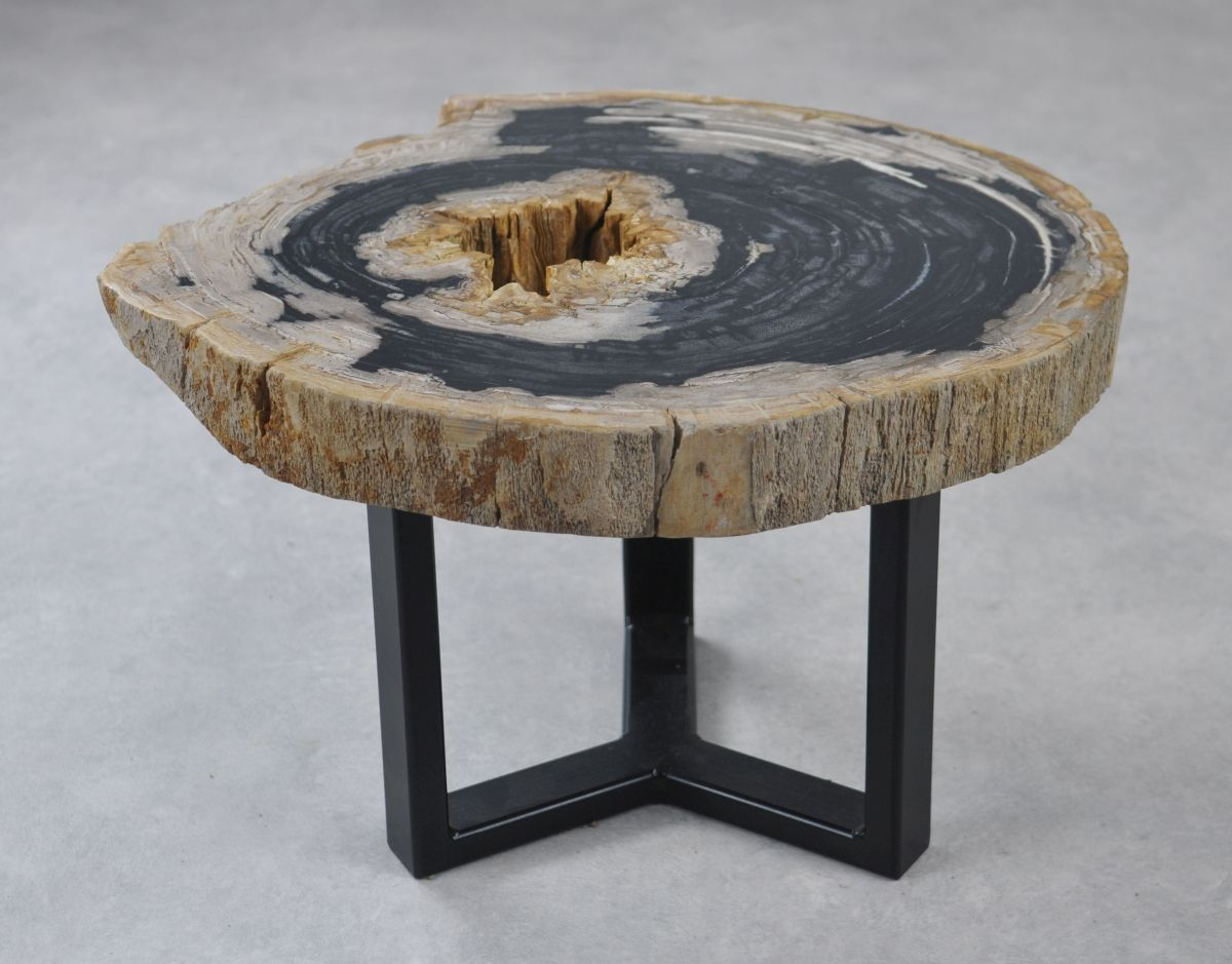 Couchtisch versteinertes Holz 35160