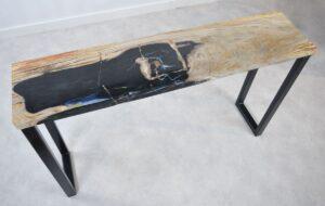 Konsole versteinertes Holz 35118