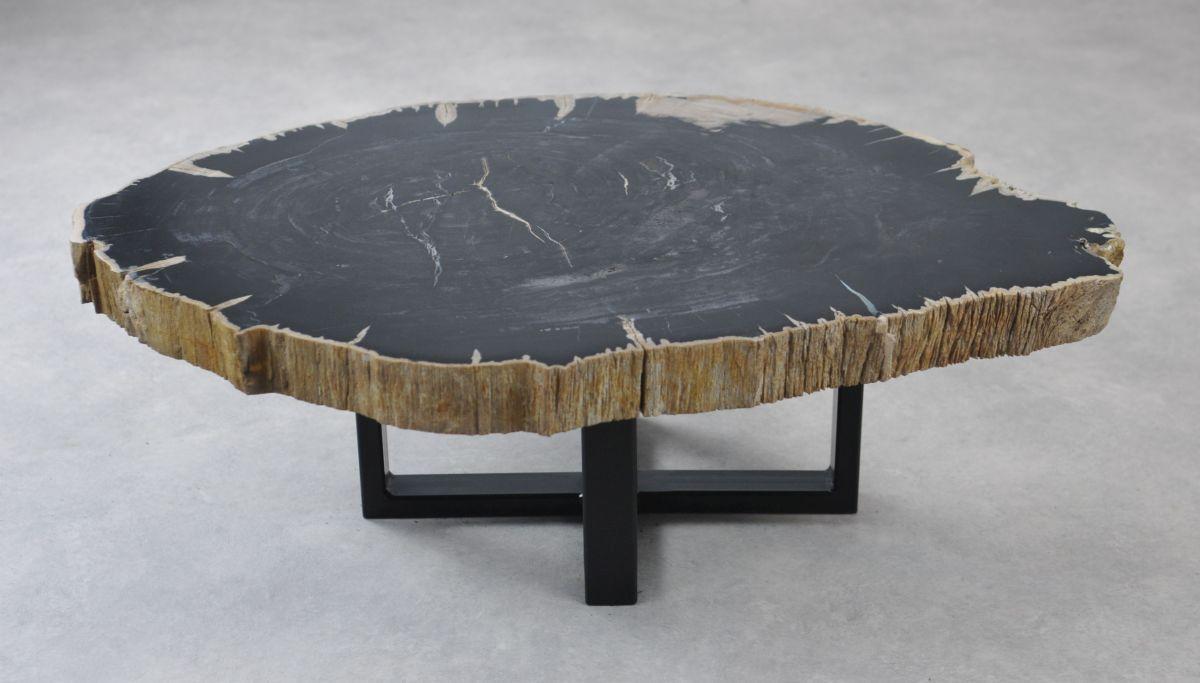 Table basse bois pétrifié 35133