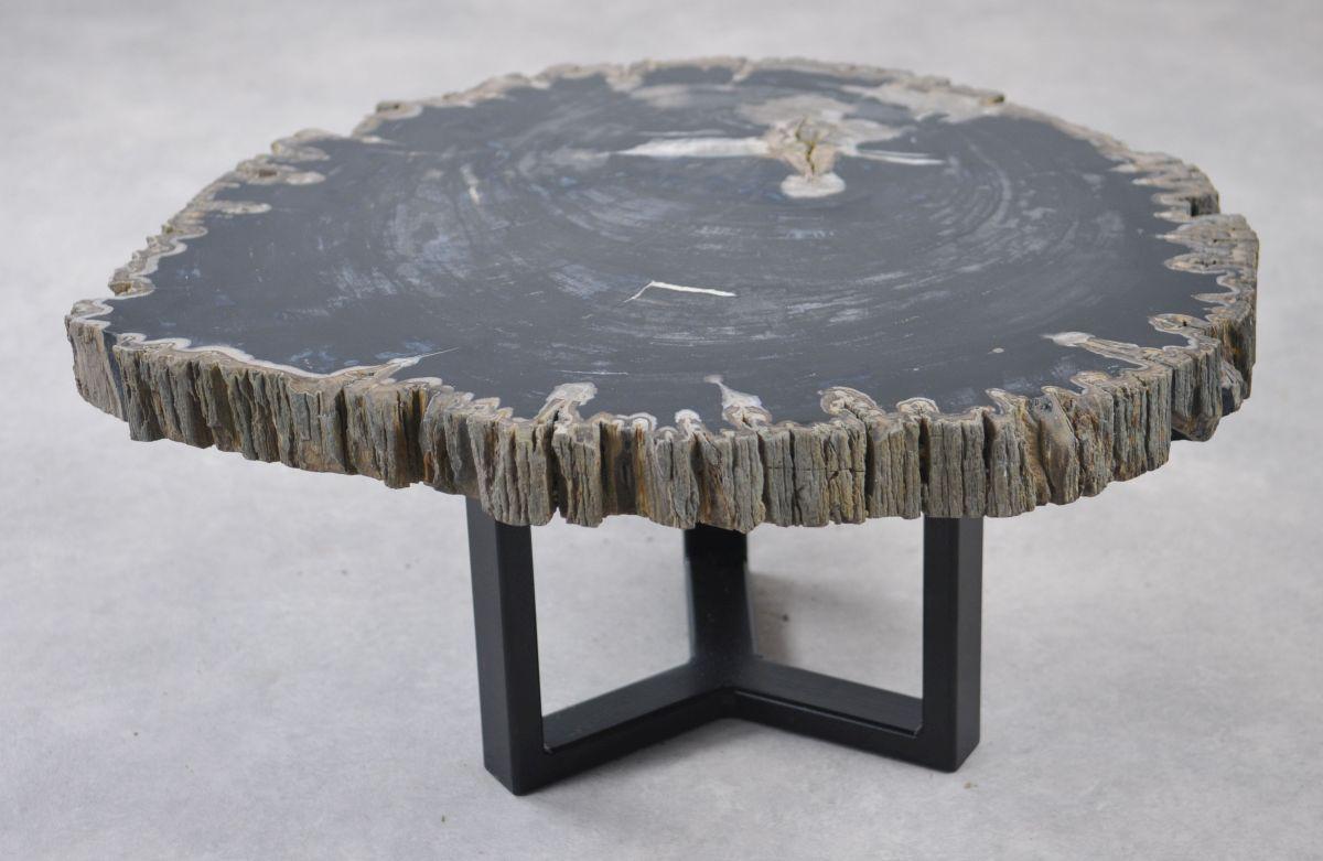 Table basse bois pétrifié 35138