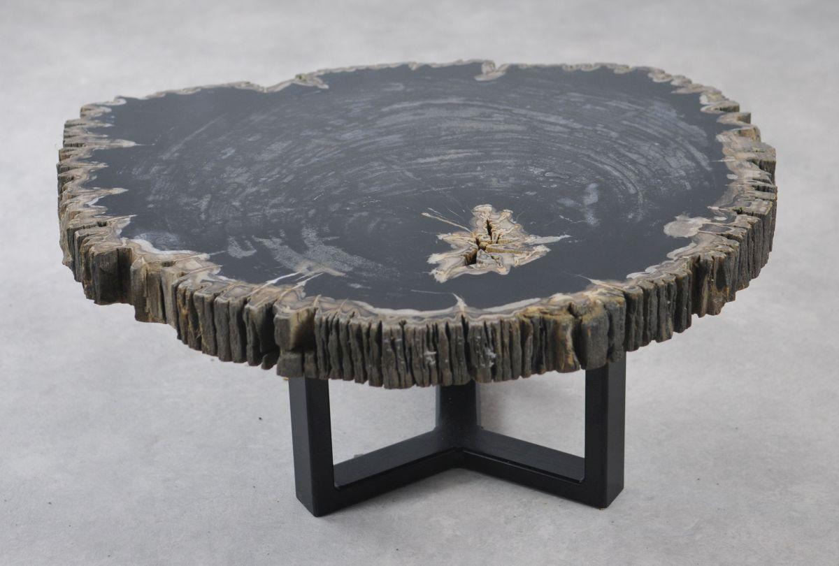 Table basse bois pétrifié 35142