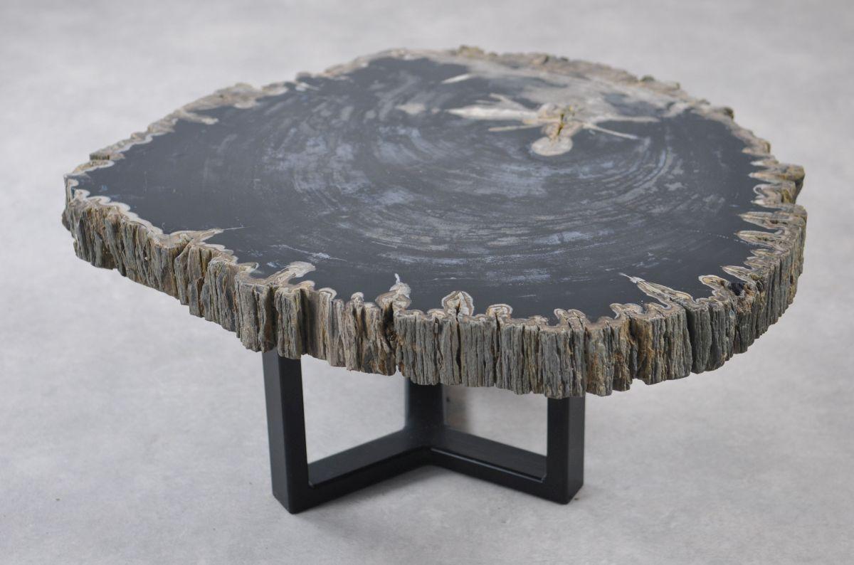 Table basse bois pétrifié 35144