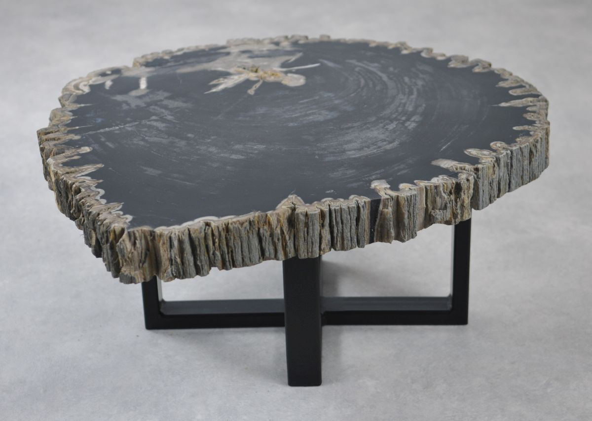 Table basse bois pétrifié 35147