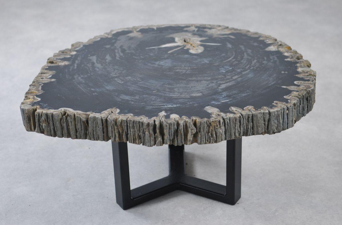Table basse bois pétrifié 35148