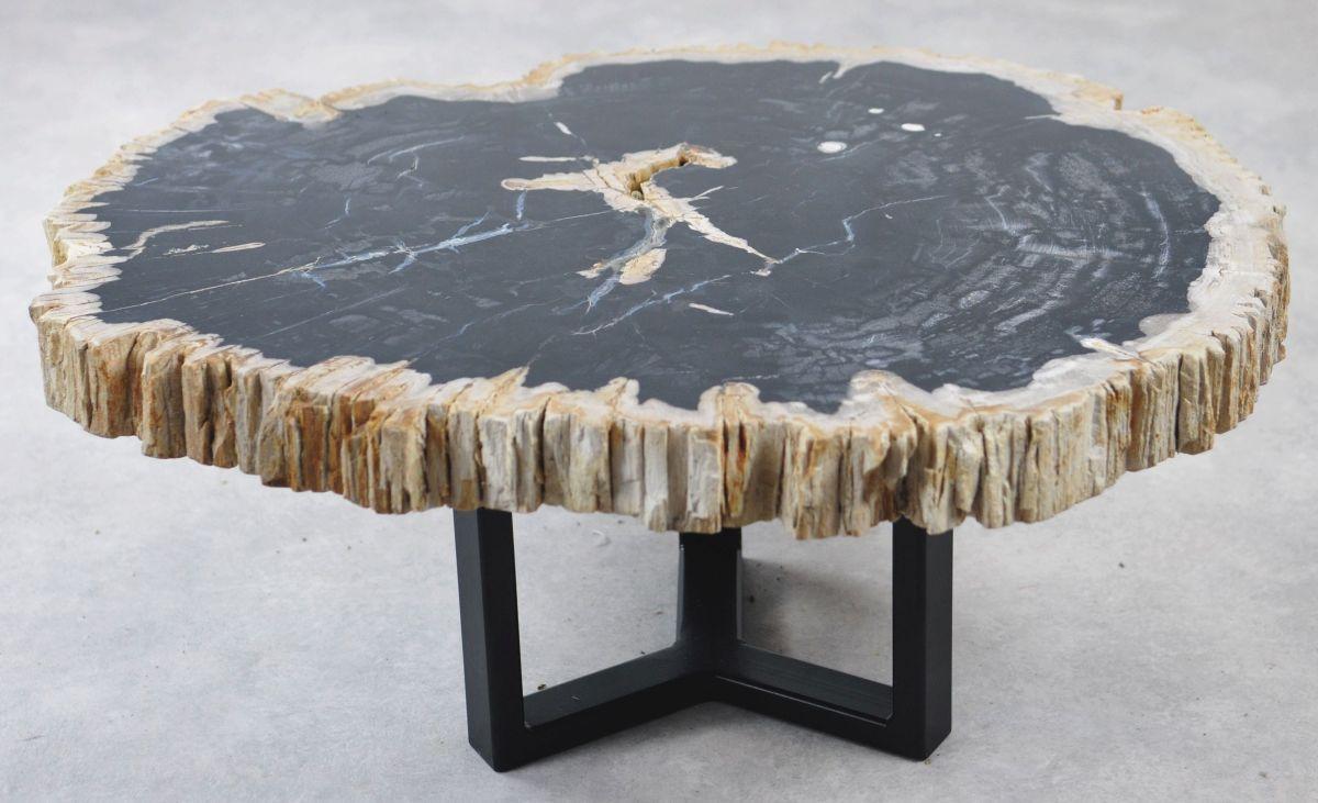 Table basse bois pétrifié 35163