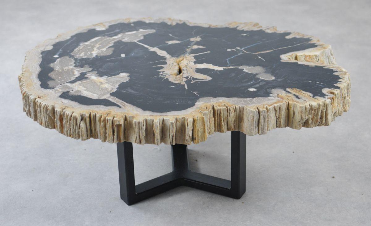 Table basse bois pétrifié 35165
