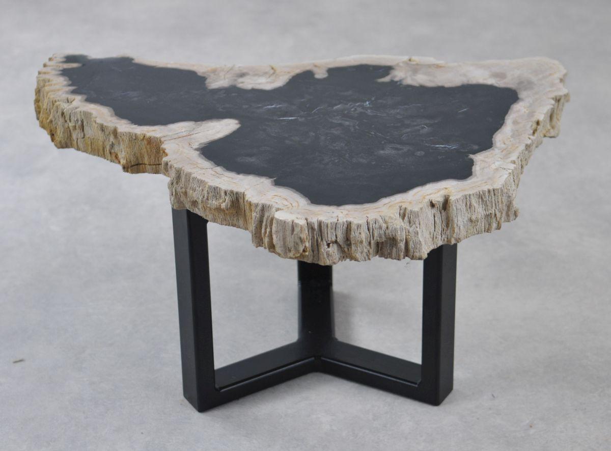 Table basse bois pétrifié 35218