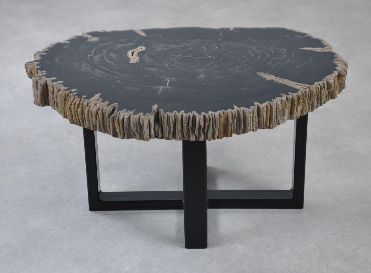 Table basse bois pétrifié 35222