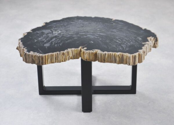 Table basse bois pétrifié 35243