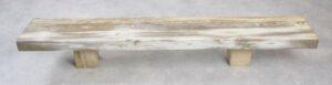 Table console bois pétrifié 35116