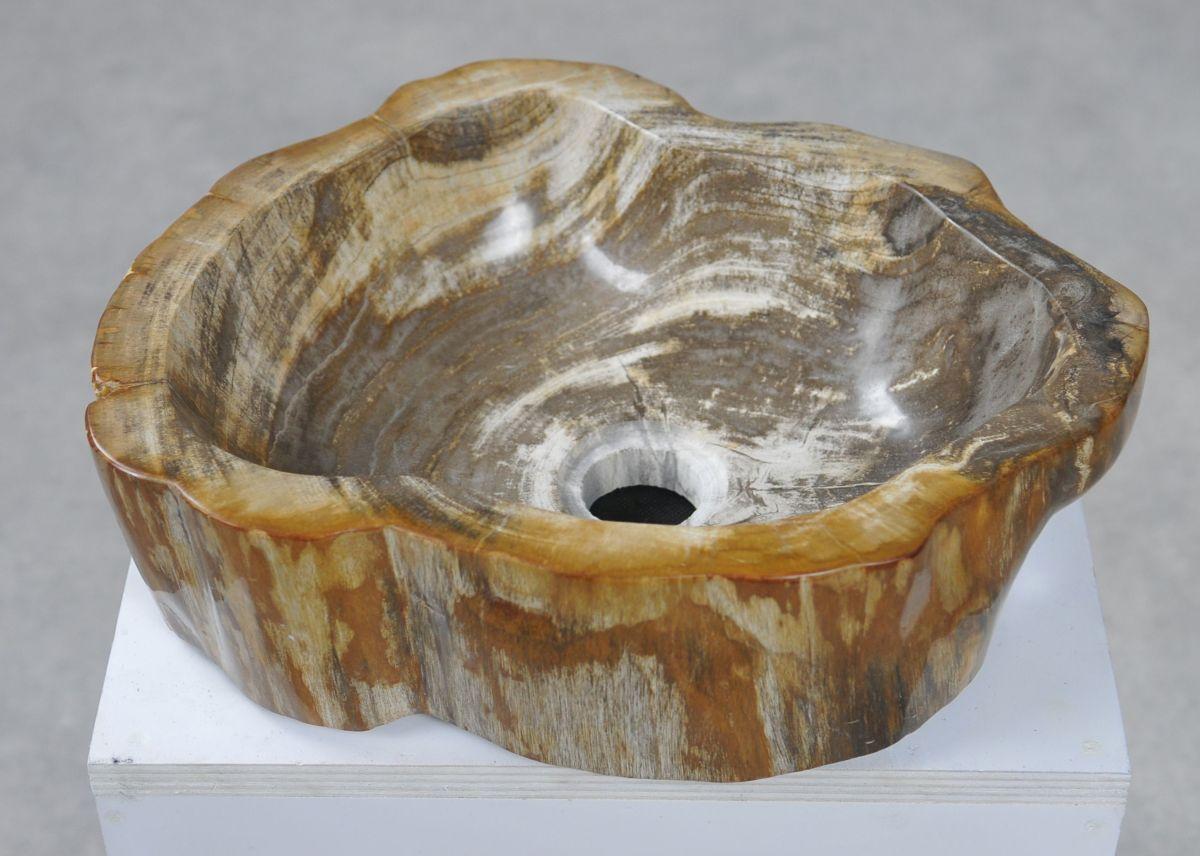 Lavabo bois pétrifié 28049